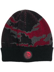 Diesel Dvl Beany Special Collection Hat Black