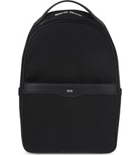 Hugo Boss Signature Canvas Backpack Black
