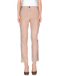 Shine Trousers Casual Trousers Women Light Pink