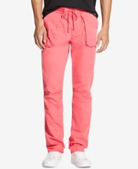 Dkny Classic Fit Drawstring Pants Sunset Coral