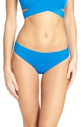Laundry By Shelli Segal Women's Bikini Bottoms Grecian Blue