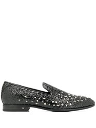 Jimmy Choo Thame Slippers Black