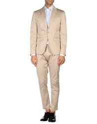 Paolo Pecora Suits And Jackets Suits Men Dove Grey