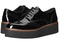 Shellys London Tommy Platform Oxford Black Shoes