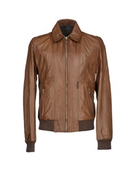 Dandg D And G Jackets Camel