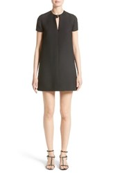 Valentino Women's Wool And Silk Crepe Shift Dress