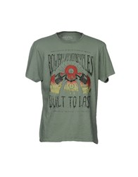 Bowery T Shirts Military Green