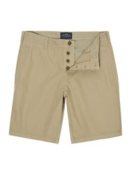 Criminal Cotton Chino Shorts Green