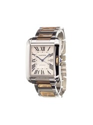 Cartier 'Tank Anglaise Gm Rose Gold Steel' Analog Watch