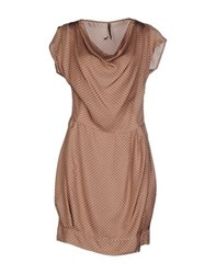 Manila Grace Dresses Short Dresses Women Khaki