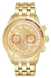 Vince Camuto Chronograph Bracelet Watch 45Mm Gold