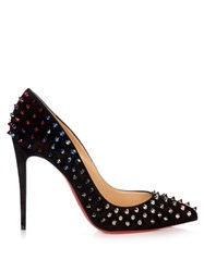 Christian Louboutin Follie Spike 100Mm Pumps Black Multi