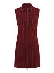 Azzedine Alaia Ecaille Bi Colour Dress