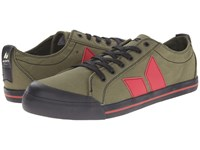 Macbeth Eliot Vegan Military Red Skate Shoes Brown