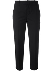 Vince Cropped Tailored Trousers Black