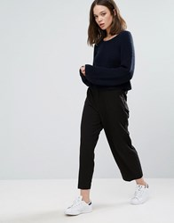 Only Wide Leg Culottes Black
