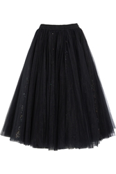 Ashish Sequined Tulle Maxi Skirt