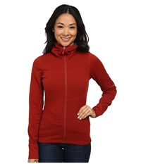 Black Diamond Coefficient Hoody Deep Torch Women's Sweatshirt Red