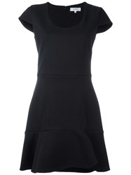 Carven Scoop Neck Dress Black