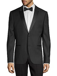 The Kooples Classic Wool Tuxedo Jacket Black