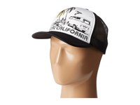 Rip Curl Saturday Trucker Black Caps