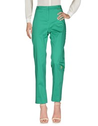 Le Fate Trousers Casual Trousers Green