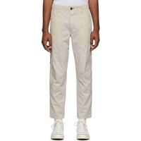 Rag And Bone Taupe Franklin Trousers