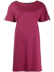 Antonelli Tie Sleeve Dress Red