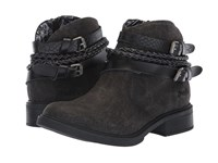 Blowfish Vianna Black Spindal Dyecut Snake Charmer Pull On Boots