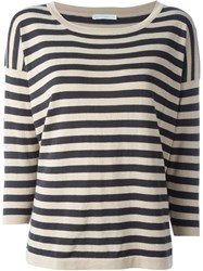 Societe Anonyme Square Cut Knit Top Grey