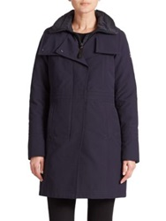 Post Card Becrux Two In One Coat Navy