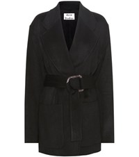Acne Studios Lilo Wool And Cashmere Jacket Black