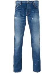Visvim Slim Fit Jeans Blue