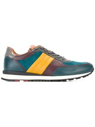 Bally Panelled Sneakers Grey