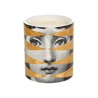 Fornasetti Large Scented Candle Losanghe Gold