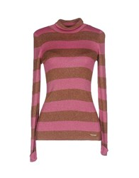 Patrizia Pepe Turtlenecks Fuchsia