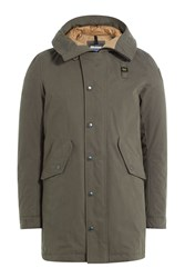 Blauer Jacket With Hood Green