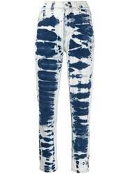Msgm Bleached Effect Mom Style Jeans 60
