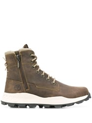 Timberland High Top Boots Green