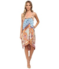 Kas Ofira Open Back Halter Dress Multi Women's Dress