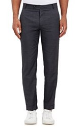 Brooklyn Tailors Worsted Cuffed Trousers Black Size 4 42 Us