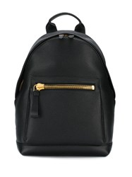 Tom Ford Pebble Textured Backpack Black