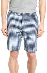Tommy Bahama Men's Big And Tall Bring'em Gingham Authentic Fit Shorts Dark Twill