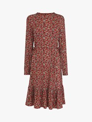 Lk Bennett L.K.Bennett Carina Floral Print Dress Red