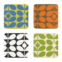 Orla Kiely 60S Stem Coasters Set Of 4