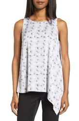 Nordstrom Women's Collection Stretch Silk Side Drape Top
