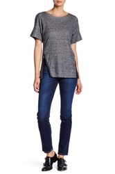 Big Star Brigette Mid Rise Slim Straight Leg Jean Blue