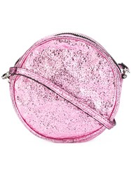 Zilla Round Crossbody Bag Pink Purple