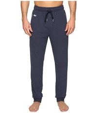 Lacoste Double Face Lounge Pants Navy Pajama