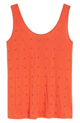 Kenneth Cole Women's New York Rings Tank Top Cherry
